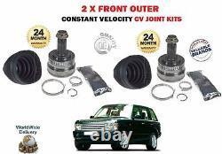 Pour Range Rover 3.0 TD6 4.4 D 2002-2012 Neuf 2 X Externe Cv Joint Constant Kit