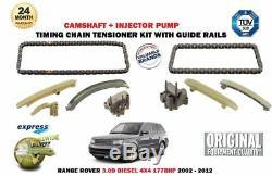Pour Range Rover 3.0D 177BHP 2002-2012 Neuf Arbre + Injecteur Kit Chaîne