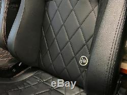 Protection 90 110 BB6 Inclinable Seau Sièges Croix / Alcantara+Kit Fixation