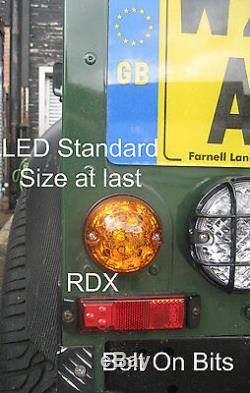 RDX 200tdi LED Couleur 8 Lampe / Feux Kit Clignotants Latéraux