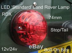 RDX Td5 TDCI LED Couleur 8 Lampe / Feux Kit & Clignotants Latéraux