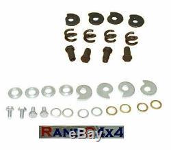 RTC3176 Land Rover Série 2 2a 3 Tambour Frein Chaussure Tendeur Kit (Set de 4)