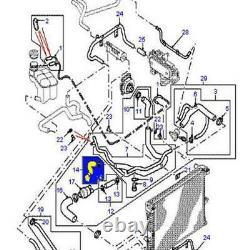 Radiateur Silicone Kits de Tuyau with Vis de purge Pour Land Rover Discovery 2 TD5