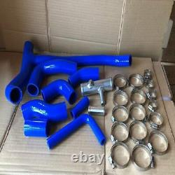 Radiateur Silicone Tuyau Kits with Vis de purge Pour Land Rover Discovery 2 TD5