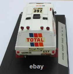 Range Rover Proto ETT Total Paris-Dakar 1986 n°392 Kit monté Gaffe 1/43