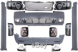 Range Rover Vogue L322 02-09 Conversion Kit Carrosserie Pare-chocs LED Feux 10+