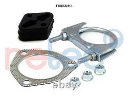 Retec Pot Catalytique 06.53.015 Pour Land Rover + Kit de Montage