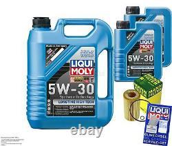 Révision D'Filtre LIQUI MOLY Huile 7L 5W-30 Pour BMW 3er E46 320d 318d E39