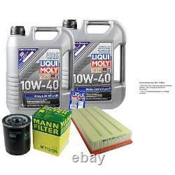 Révision Filtre LIQUI MOLY Huile 10L 10W-40 Pour Land Rover Range Lm 4.4 4x4