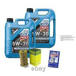 Révision Filtre LIQUI MOLY Huile 10L 5W-30 Pour BMW 5er E39 525tds 525td