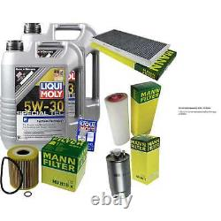 Révision Filtre LIQUI MOLY Huile 10L 5W-30 Pour Land Rover Gamme Lm 3.0 D