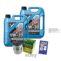 Révision Filtre LIQUI MOLY Huile 10L 5W-30 Pour Rover 800 Hatchback XS 825