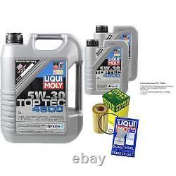 Révision Filtre LIQUI MOLY Huile 7L 5W-30 Pour BMW 3er E46 320d 318d E39