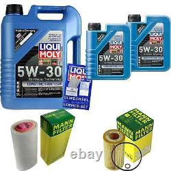 Révision Filtre LIQUI MOLY Huile 7L 5W-30 Pour BMW 3er E46 320d 318d E39 520d