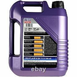Révision Filtre LIQUI MOLY Huile 7L 5W-40 Pour Land Rover Discovery III