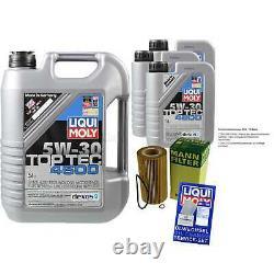 Révision Filtre LIQUI MOLY Huile 8L 5W-30 Pour BMW 7er E38 740i Il 750i