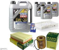 Révision Filtre LIQUI MOLY Huile 8L 5W-30 Pour Land Rover Range de Ls 3.0 D