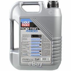 Sketch D'Inspection Filtre Huile Liqui Moly 8L 5W-30 pour BMW X5 E53 3.0d Land