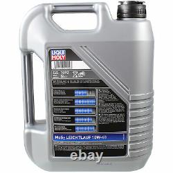 Sketch D'Inspection Filtre LIQUI MOLY Huile 10L 10W-40 Pour BMW 5er Touring E34