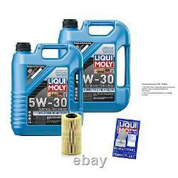 Sketch D'Inspection Filtre LIQUI MOLY Huile 10L 5W-30 Pour BMW 5er Touring E34