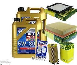 Sketch D'Inspection Filtre LIQUI MOLY Huile 10L 5W-30 Pour Land Rover Gamme LP