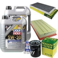 Sketch D'Inspection Filtre LIQUI MOLY Huile 10L 5W-30 Pour Land Rover Range Lmn