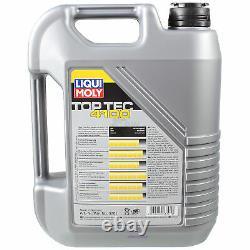 Sketch D'Inspection Filtre LIQUI MOLY Huile 6L 5W-40 Pour Land Rover Gamme LP