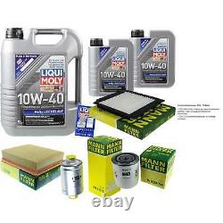 Sketch D'Inspection Filtre LIQUI MOLY Huile 7L 10W-40 Pour Land Rover Range LP