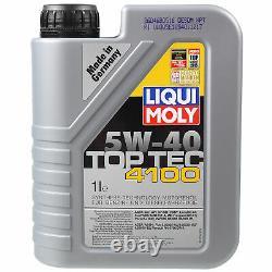 Sketch D'Inspection Filtre LIQUI MOLY Huile 7L 5W-40 Pour BMW 5er Tourisme E39