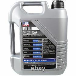 Sketch D'Inspection Filtre LIQUI MOLY Huile 8L 10W-40 Pour LN
