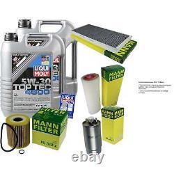 Sketch D'Inspection Filtre Liqui Moly Huile 10L 5W-30 pour BMW X5 E53 3.0d Land