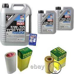 Sketch D'Inspection Filtre Liqui Moly Huile 7L 5W-30 Pour BMW 3er E46 320d 318d