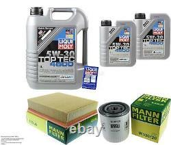 Sketch D'Inspection Filtre Liqui Moly Huile 7L 5W-30 Pour Land Rover Lt
