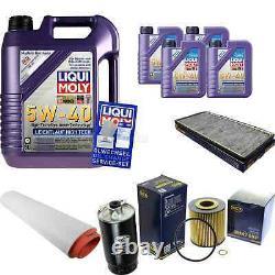 Sketch D'Inspection Filtre Liqui Moly Huile 9L 5W-40 Pour BMW X5 E53 3.0d Land