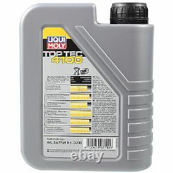 Sketch D'Inspection Filtre Liqui Moly Huile 9L 5W-40 pour BMW 5er Touring E39