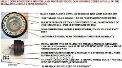 Sport Volant & Patron Kit Moyeu Pour Land Rover Defender 90/110/48 Dents