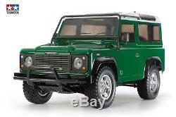 Tamiya 110 Rc Land Rover Defender 90 Cc-01 58657 Kit de Montage