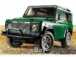 Tamiya Land Rover Defender 90 1/10 Echelle Télécommandé Kit PLASTIQUE Gratuit