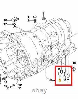 ZF 1068.298.062 Vidange D'Huile 7L Huile Automatique 6HP26 28 32 + Kit de
