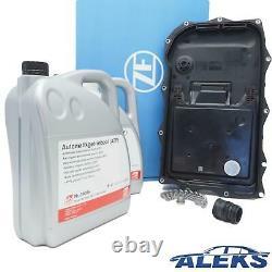 Zf Service Automatikwanne Carter D'Filtre Kit + 10L + Fiche Pour BMW 1er 3er 5er